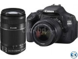 Canon 600D SLR Camera with 18-55