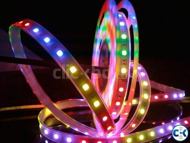 Power On LED Strep 5 miter RGB Remote Controller | ClickBD large image 2