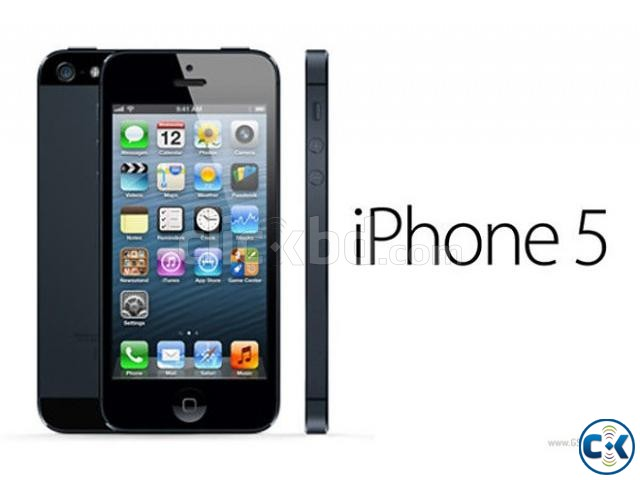 Iphone 5 16GB Black Factory unlock with IMEI match Box | ClickBD large ...