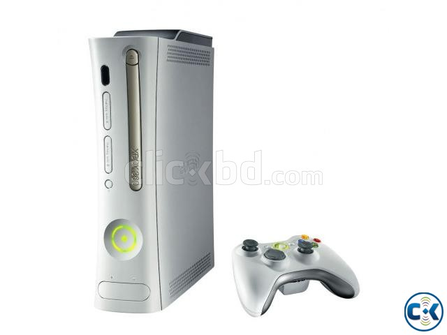 xbox 360 go pro with 20 games and 2 controllers | ClickBD large image 0