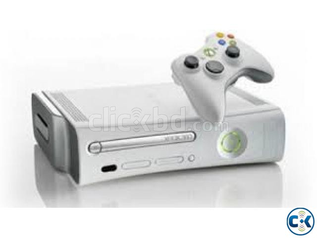 xbox 360 go pro with 20 games and 2 controllers | ClickBD large image 1