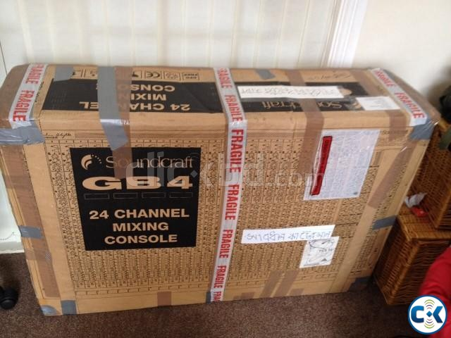 Sound craft GB-4 24 channel Brand new | ClickBD large image 2