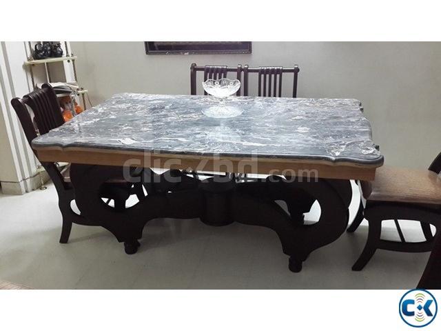 New Stylish Dinning Marble Table Chair ClickBD : 16022780original from www.clickbd.com size 640 x 480 jpeg 51kB
