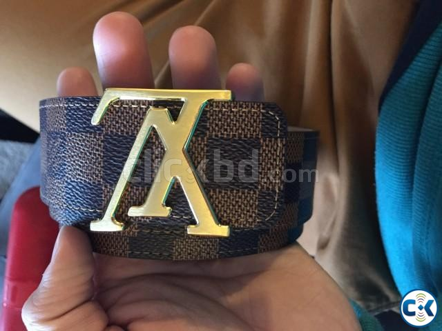 Louis vuitton Belt from paris - Authentic made in spain | ClickBD large image 1