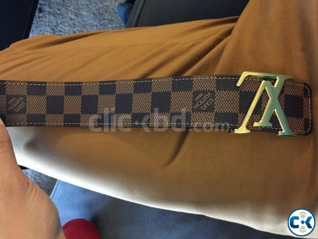 Louis vuitton Belt from paris - Authentic made in spain | ClickBD large image 2