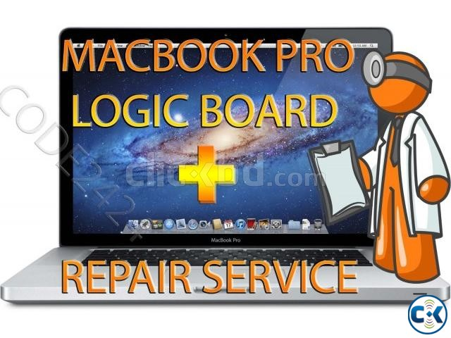 Apple Macbook Pro LOGIC BOARD REPAIR SERVICE | ClickBD large image 0