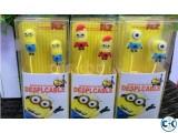 Despicable Me Minion Earphones 3.5 mm