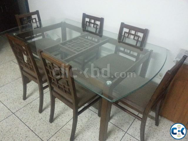 HATIL 6 Chair Dining Table