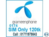 Event of GP SIM Card Only 120tk