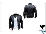 Black Leather Jacket RAVEN