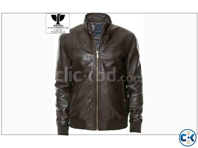 RAVEN Genuine Leather Jacket | ClickBD large image 0
