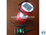 Solar Recergeable Light With Power Bank