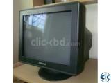 SAMSUNG CRT MONITOR BLACK 17 100 FRESH