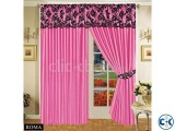 LUXURIOUS FULLY LINED ITALIAN CURTAINS FUCHSIA 66 x72