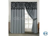LUXURIOUS FULLY LINED ITALIAN CURTAINS SILVER 90 x90