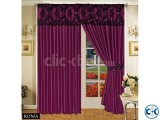 LUXURIOUS FULLY LINED ITALIAN CURTAINS AUBERGINE 66 x72