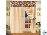 LUXURIOUS FULLY LINED ITALIAN CURTAINS CREAM BROWN 66 x72