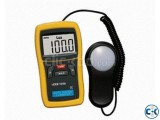 Power On VICTOR VC1010A Digital Lux Meter Photo Light Meter