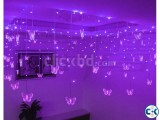 Power On Lighting Butterfly LED Curtain Light