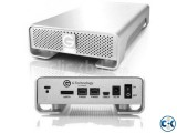 G-DRIVE 2TB eSATA Firewire 800 USB3