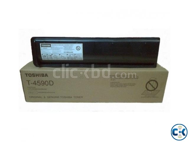 Toshiba T-4590D Toner for Use e-Studio 256 306 456 Copier | ClickBD large image 0