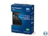 WD My Passport Ultra -2 T.B Black -Slimmer--01977784777