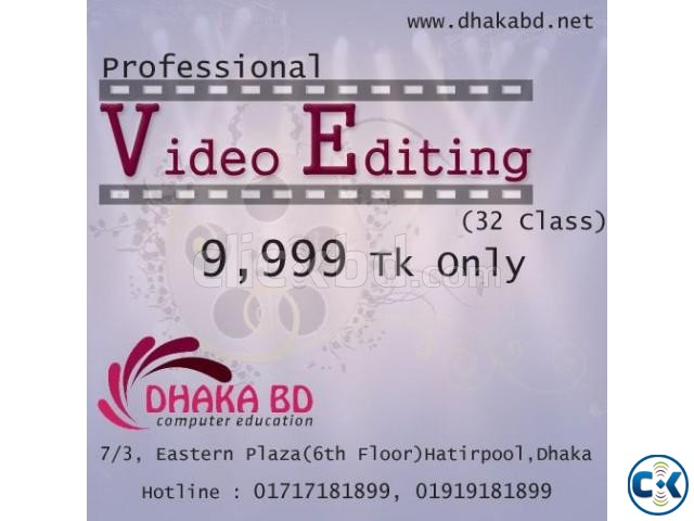 Learn video Editing Course | ClickBD
