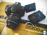 Nikon D5200 with 18-55mm Read Details