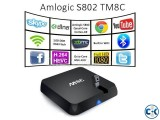 M8C Quad Core Android 4.4 TV Box with 5MP camera