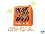 VIP 01911 Sim Sell ........