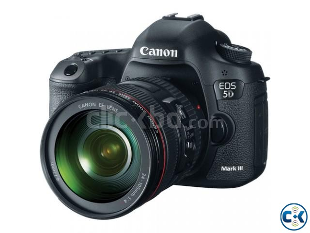 Canon EOS-5D Mark III 22.3 MP Digital Camera W Canon 24-105 | ClickBD large image 1