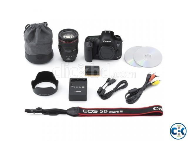 Canon EOS-5D Mark III 22.3 MP Digital Camera W Canon 24-105 | ClickBD large image 2