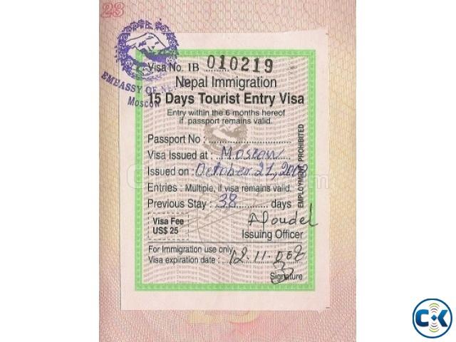 Nepal Tourist Visa Processe | ClickBD
