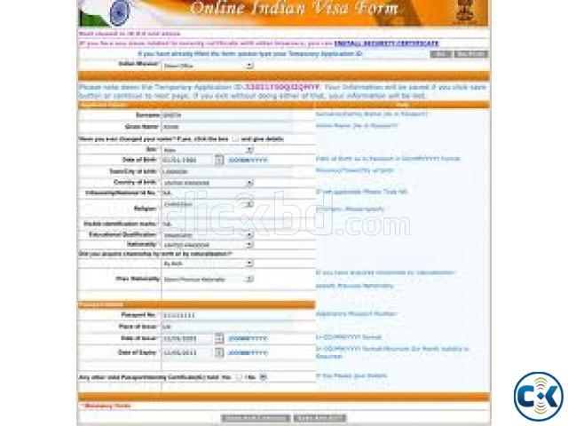 bangladesh high commission kolkata visa application form