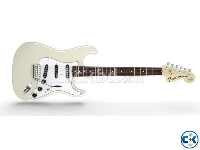 Fender Stratocaster Olympic white  | ClickBD large image 1