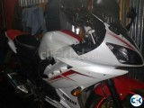 I want sell my Fazer bike now decorated by r15