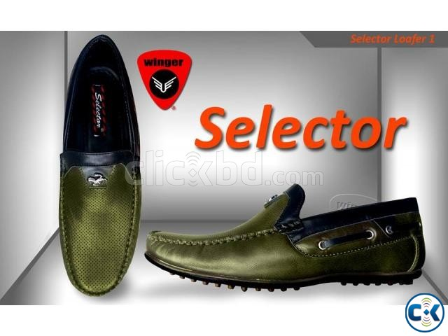 Selector Loafer 1 Army Green  | ClickBD large image 0
