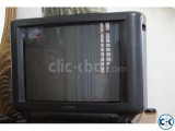 Original SONY 21 inch Color TV