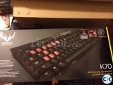 Corsair k70 mechanical Keyboard.