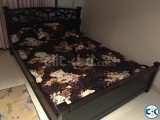 Luxurious Wooden double bed for sale!