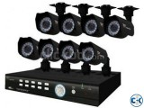 8 Channel Jovision DVR With 8 Unit Security Camera