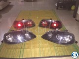 Honda Civic 1997-99 Projection Headlights and back lights