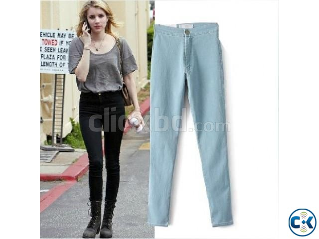 Ladies Jeans Pant Zara Style | ClickBD large image 1