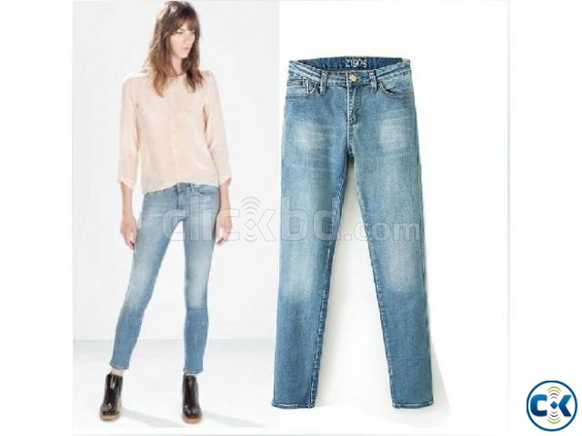Ladies Jeans Pant Zara Style | ClickBD large image 3