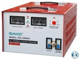 Power On Stabilizer SAKO SVR -5000 VA SERVO