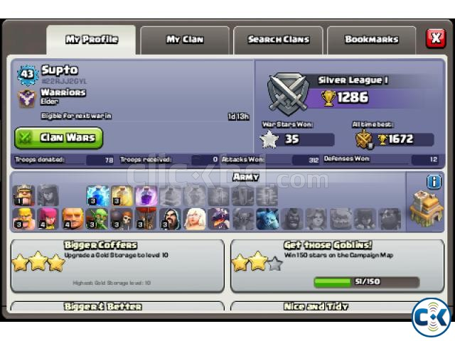 clash of clans is great | ClickBD large image 1