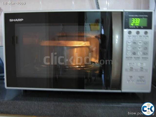 SHARP Microwave Oven With Double Grill | ClickBD large image 0