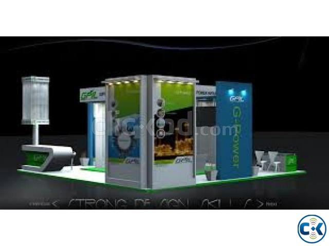 Exhibition Stall Cost : Exhibition stall installation clickbd
