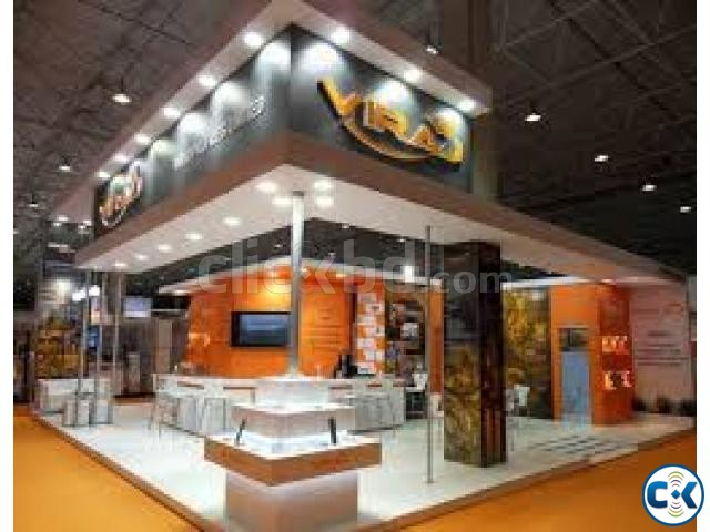 Large Exhibition Stall : Exhibition stall design implementation clickbd