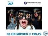 BUY FULL HD 3D MOVIES ONLY 199.Tk